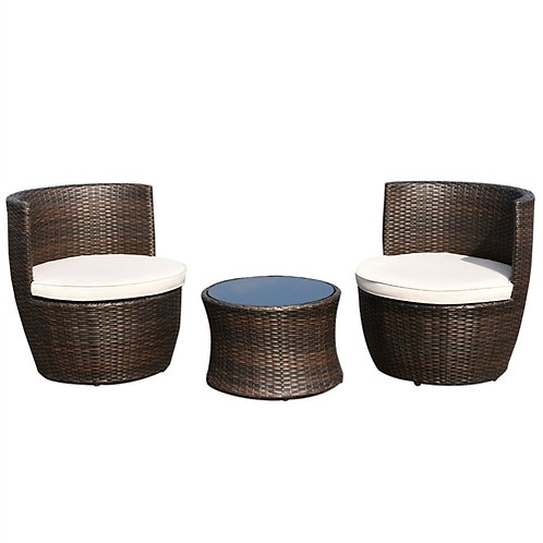 Home > Outdoor > Outdoor Furniture > Patio Furniture Sets > Modern 3-Piece St