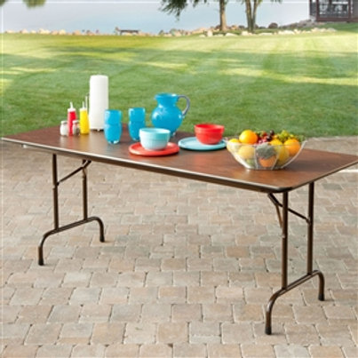 Home > Office > Folding Tables > Rectangle 60-inch Melamine Folding Table in