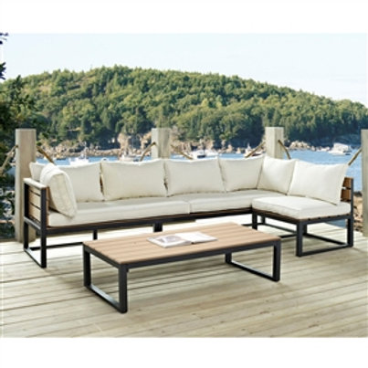 Home > Outdoor > Outdoor Furniture > Patio Furniture Sets > 4-Piece Modern Ou
