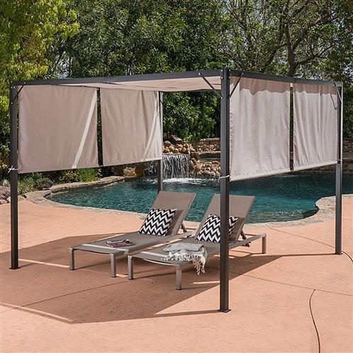 Home > Outdoor > Gazebos & Canopies > Heavy Duty Steel Frame Outdoor Gazebo P
