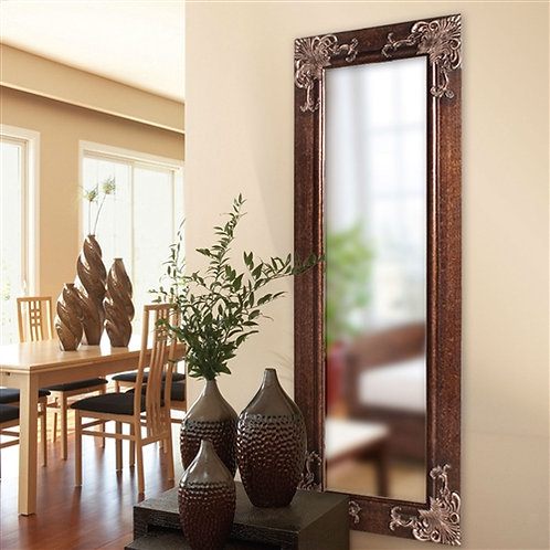 Home > Accents > Mirrors > Full Length 63-in Wall Mirror with Wood Frame and