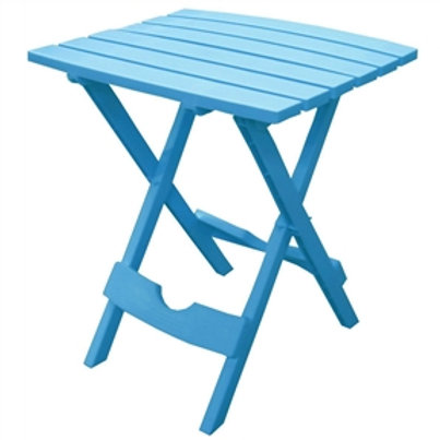 Home > Outdoor > Outdoor Furniture > Patio Tables > Pool Blue Folding Side Ta