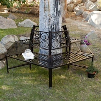 Home > Outdoor > Outdoor Furniture > Garden Benches > Tree Hugger Bench in Al