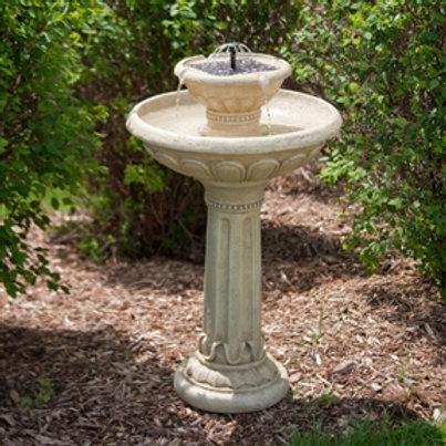 Home > Outdoor > Outdoor Decor > Outdoor Fountains > 2-Tier Solar Fountain Bi