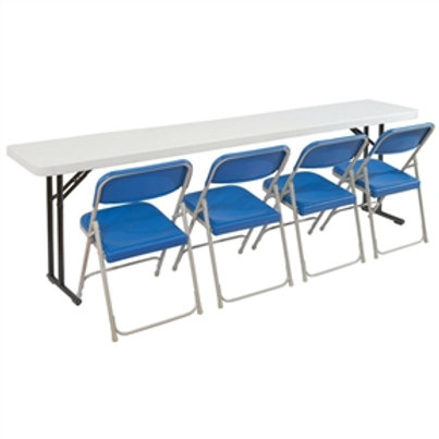 Home > Office > Folding Tables > Steel Frame 72-inch Rectangular Gray Plastic