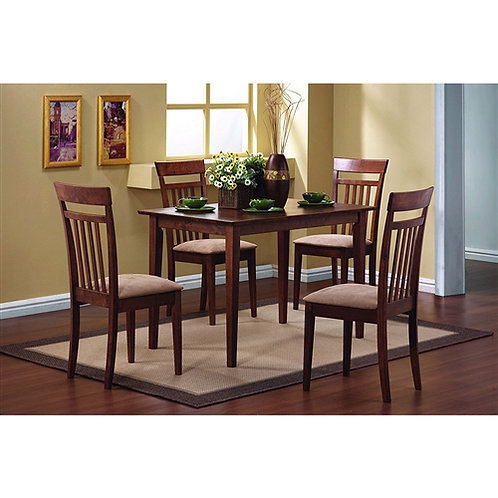 Home > Dining > Dining Sets > Classic 5-Piece Dining Set with Rectangular Tab