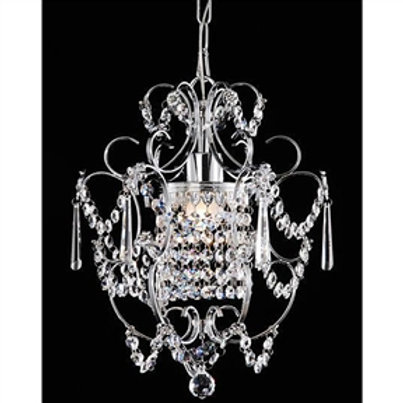 Home > Lighting > Chandeliers > Elegant Chrome Crystal Chandelier