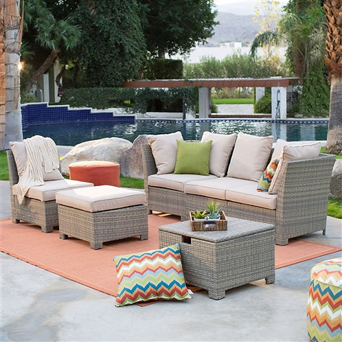 Home > Outdoor > Outdoor Furniture > Patio Furniture Sets > Natural Outdoor W