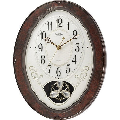 Home > Accents > Clocks > Wood Frame Pendulum Wall Clock - Plays Melodies on