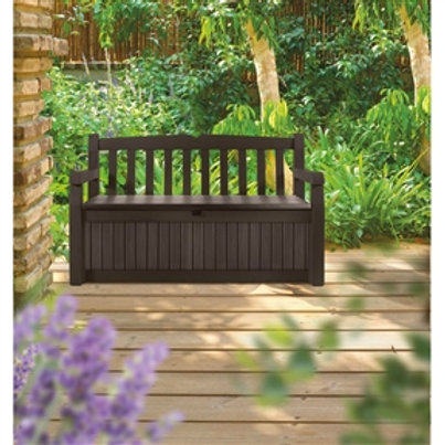 Home > Outdoor > Outdoor Furniture > Garden Benches > Brown Resin Outdoor Pat