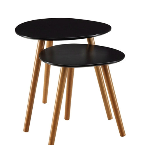 Home > Living Room > Coffee Tables > Set of 2 - Modern Mid-Century Style Nest