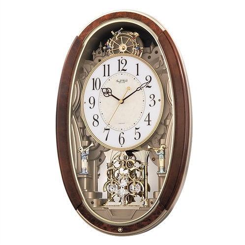 Home > Accents > Clocks > Ferris Wheel Trumpet Boys Pendulum Wall Clock - Pla