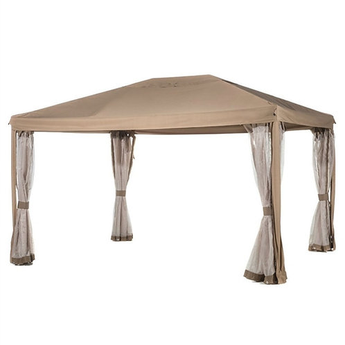 Home > Outdoor > Gazebos & Canopies > 10ft x 12ft Fully Enclosed Solid Steel