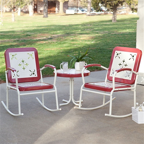 Home > Outdoor > Outdoor Furniture > Patio Furniture Sets > Cherry Red Retro