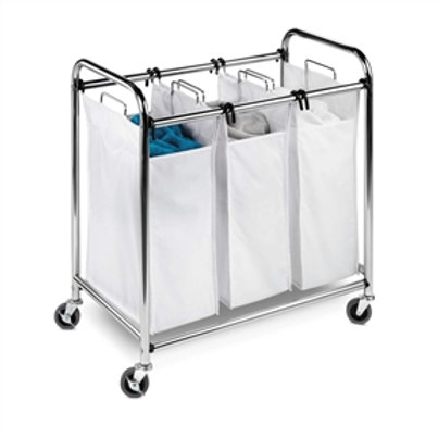 Home > Bathroom > Laundry Hampers > Heavy Duty Commercial Grade Laundry Sorte