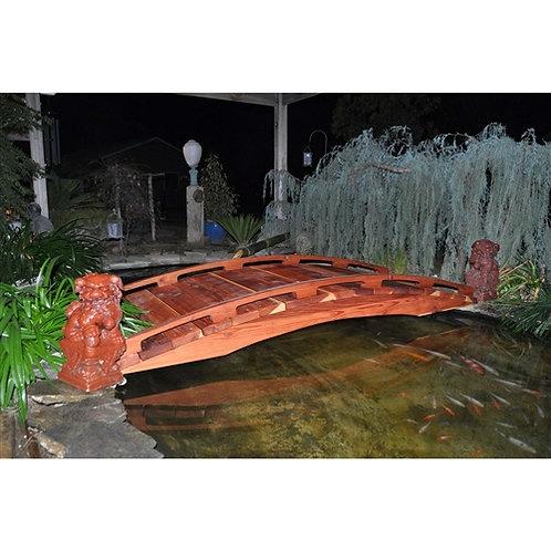 Home > Outdoor > Garden Bridges > Japanese Style Functional 4-Ft Wood Garden