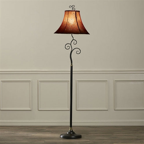 Home > Lighting > Floor Lamps > Contemporary 61-inch Tall Floor Lamp with Red