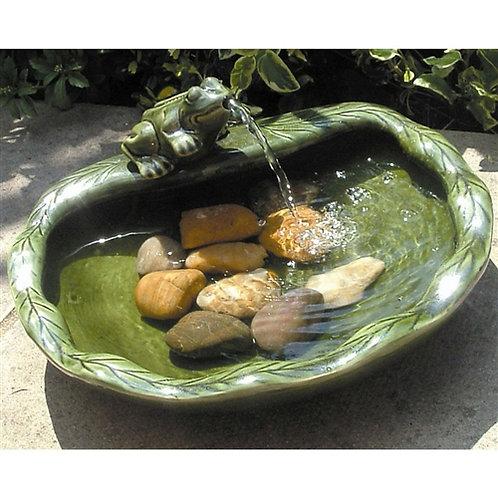 Home > Outdoor > Outdoor Decor > Outdoor Fountains > Green Glazed Ceramic Fou