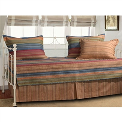 Home > Bedroom > Comforters and Sets > Reversible 5-Piece Daybed Set with Bed