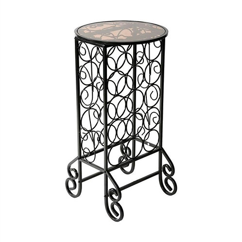 Home > Kitchen > Wine Racks and Coolers > Black Iron 15-Bottle Wine Rack Acce