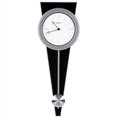 Home > Accents > Clocks > Contemporary Wall Clock with Functional Pendulum De