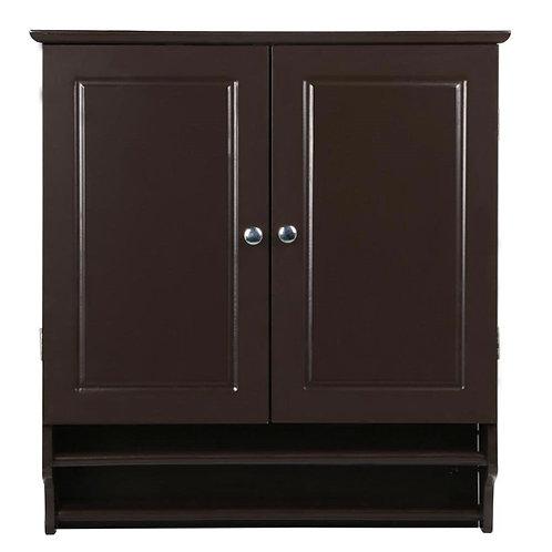 Home > Bathroom > Bathroom Cabinets > Espresso 2-Door Bathroom Wall Cabinet C