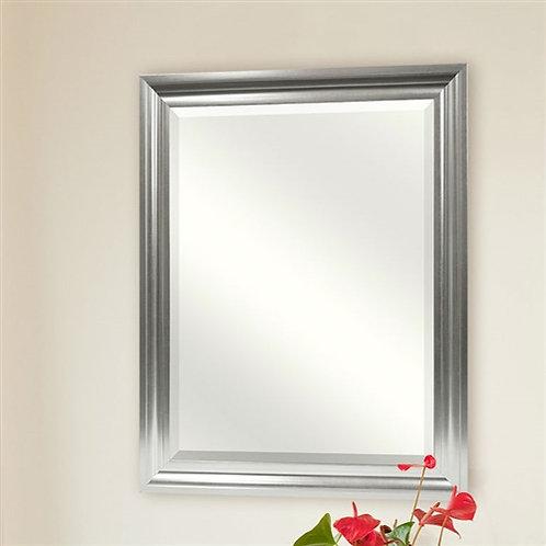 Home > Bathroom > Bathroom Mirrors > Rectangular Beveled Vanity Mirror with S