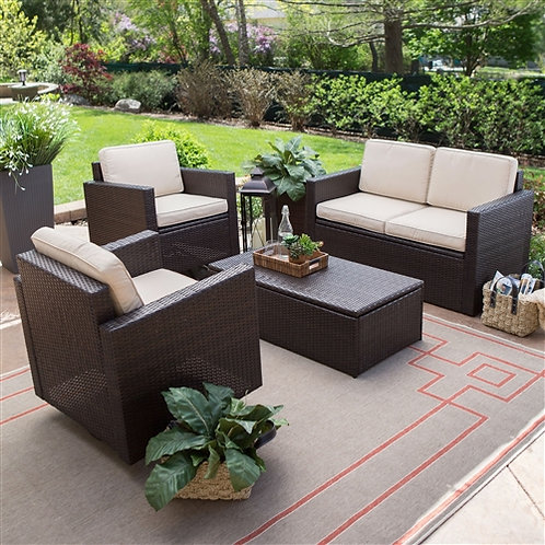 Home > Outdoor > Outdoor Furniture > Patio Furniture Sets > Outdoor Wicker Resin
