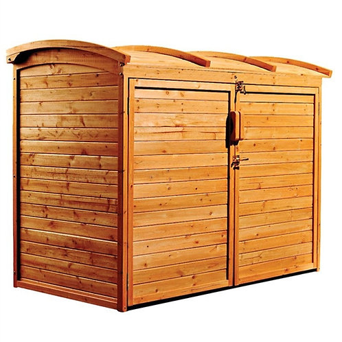 Home > Outdoor > Storage Sheds > Outdoor 34-inch x 62-inch Wooden Storage She