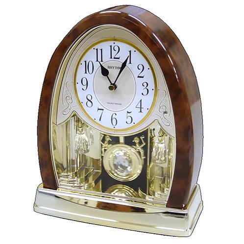 Home > Accents > Clocks > Crystal Bells Swinging Pendulum Table Clock