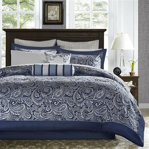 Home > Bedroom > Comforters and Sets > Queen size 12-piece Reversible Cotton