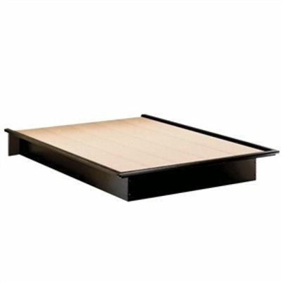Home > Bedroom > Bed Frames > Full Size Modern Platform Bed Frame in Black Fi