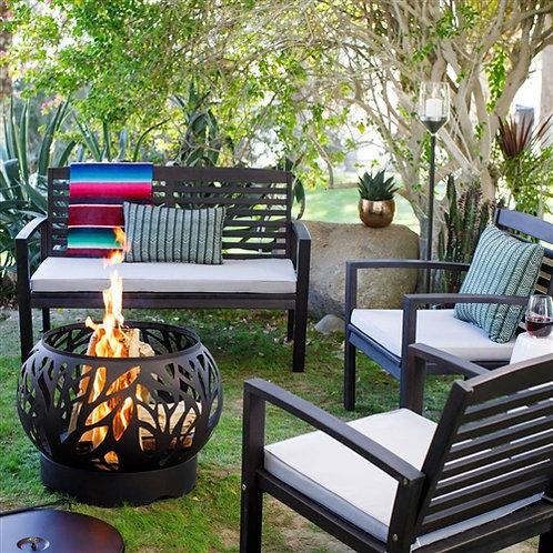Home > Outdoor > Outdoor Furniture > Patio Furniture Sets > 5 Piece Espresso