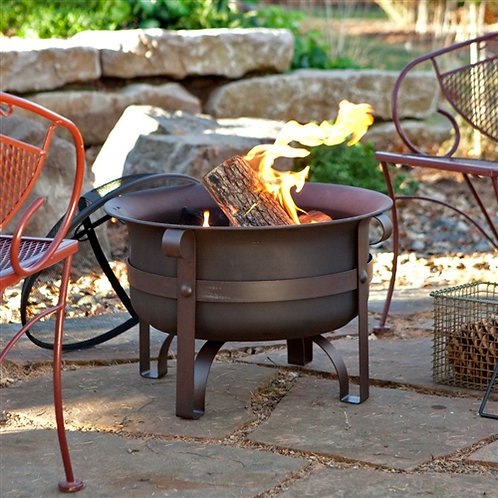 Home > Outdoor > Outdoor Decor > Fire Pits > 23-inch Heavy Duty Steel Fire Pi