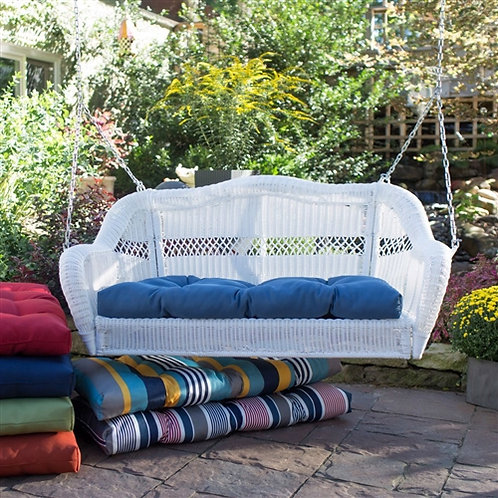 Home > Outdoor > Outdoor Furniture > Porch Swings and Gliders > White Resin W