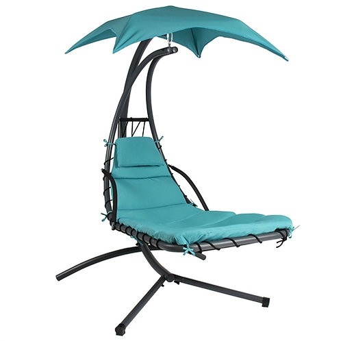 Home > Outdoor > Outdoor Furniture > Porch Swings and Gliders > Teal Single P