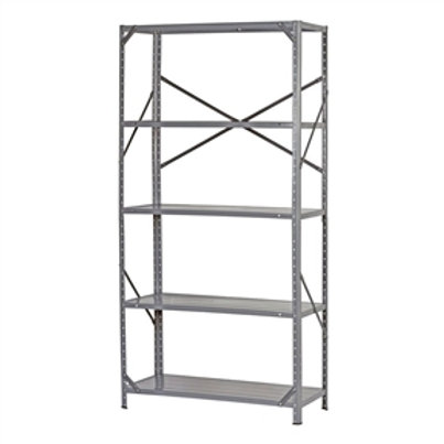 Home > Accents > Shelving Units > Commercial Steel Freestanding 5-Shelf Unit