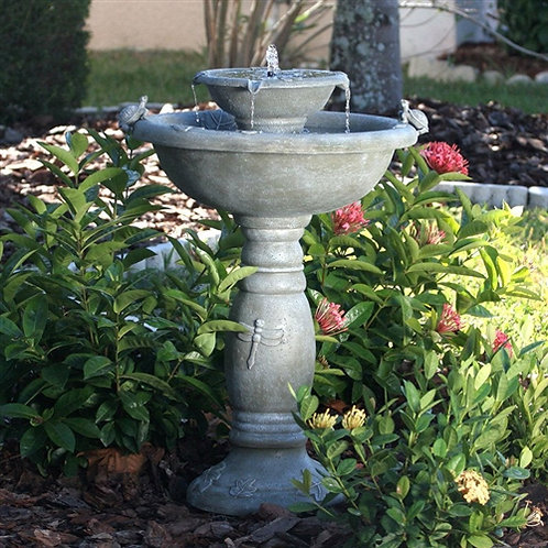 Home > Outdoor > Outdoor Decor > Outdoor Fountains > Weathered Stone Finish O
