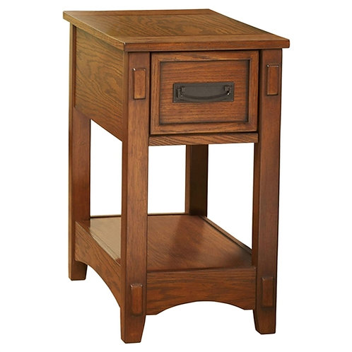 Home > Bedroom > Nightstand and Dressers > Mission Style 1-Drawer End Table N