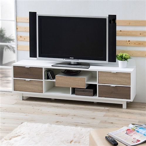 Home > Living Room > TV Stands and Entertainment Centers > Modern 70-inch Whi