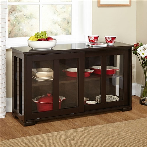 Home > Dining > Sideboards & Buffets > Espresso Sideboard Buffet Dining Kitch