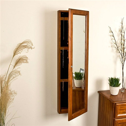 Home > Accents > Jewelry Armoires & Boxes > Wall Mount Jewelry Armoire Cabine