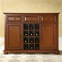 Home > Dining > Sideboards & Buffets > Cherry Wood Dining Room Storage Buffet
