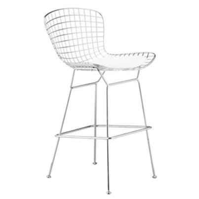Home > Dining > Barstools > Wire Counter Height Modern Bar Stool Chair