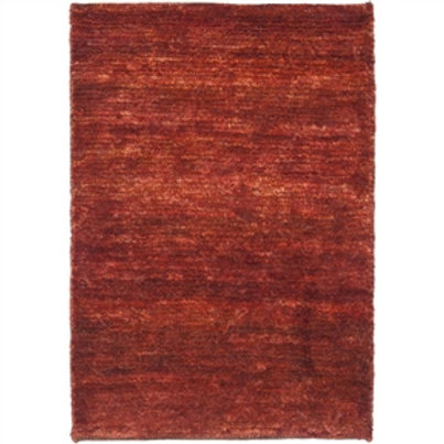 Home > Accents > Rugs > Hand-knotted Vegetable Dye Solo Rust Hemp Rug (8' x 1