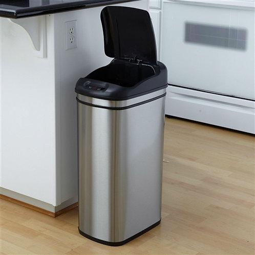 Home > Kitchen > Trash Cans & Recycle Bins > 11.1 Gallon Kitchen Infrared Tou