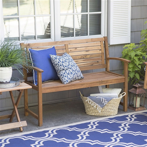 Home > Outdoor > Outdoor Furniture > Garden Benches > Outdoor 4-Ft Classic Sl