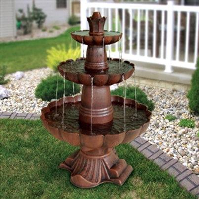 Home > Outdoor > Outdoor Decor > Outdoor Fountains > 3-Tier Outdoor Garden Fo