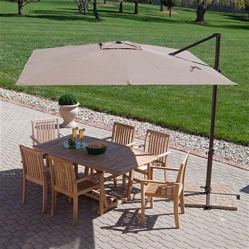 Home > Outdoor > Outdoor Furniture > Patio Umbrella > Modern 8.5-Ft Offset Ca