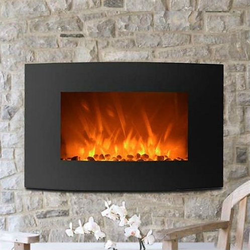 Home > Accents > Electric Fireplaces > Curved Wall Mount 35-inch Electric Fir
